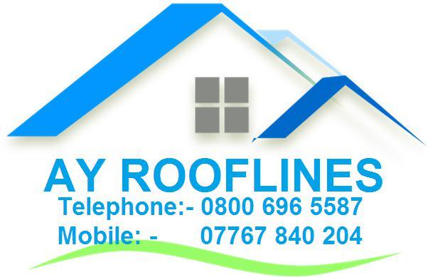 AY Rooflines logo