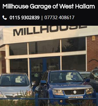 David Ray Ltd t/a Millhouse Garage logo