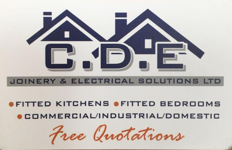 CDE Joinery & Electrical Solutions Ltd logo