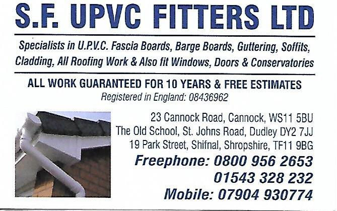 SF UPVC Fitters Ltd logo