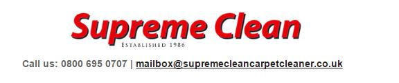 Supreme Clean logo