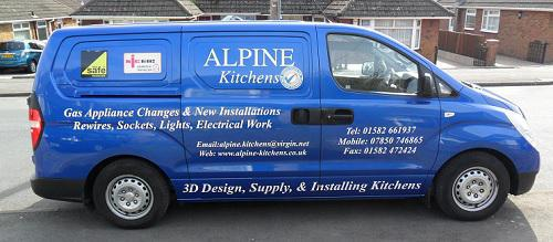 Alpine Kitchens logo