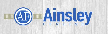 Ainsley Fencing Ltd logo