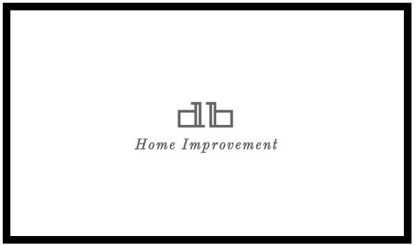 DB Home Improvement logo