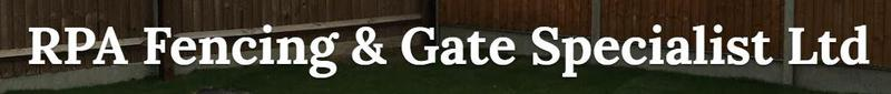 RPA Fencing & Gate Specialist Ltd logo
