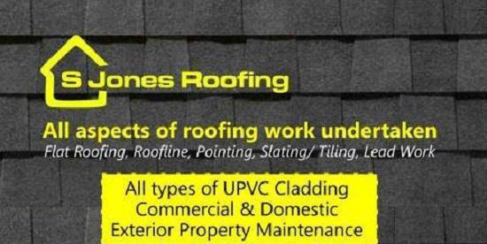 S Jones Roofing, Fascias & Cladding logo