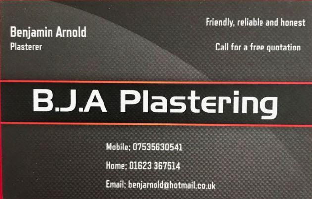 BJA Plastering logo