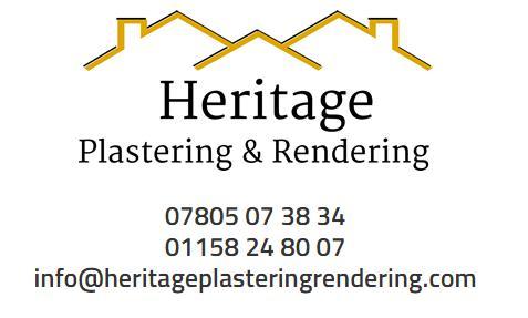 Heritage Plastering & Rendering logo