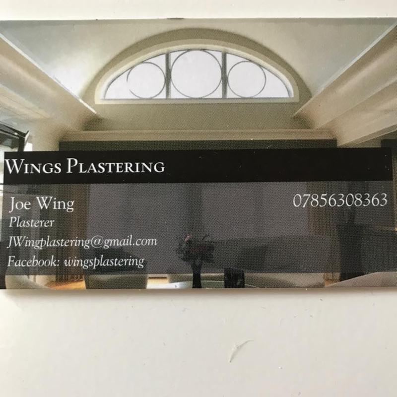 Wings Plastering logo