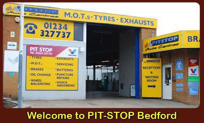 Pit-Stop Auto Centre (Bedford) logo