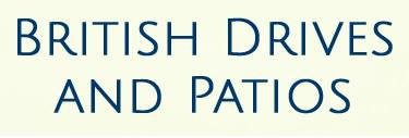 British Drives and Patios logo