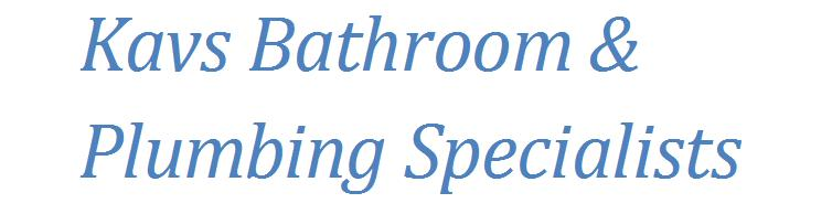 Kav's Bathroom & Plumbing Specialists logo