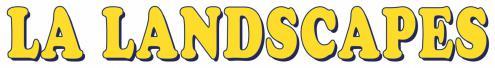 LA Landscapes logo
