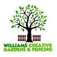Williams Creative Gardens & Fencing logo