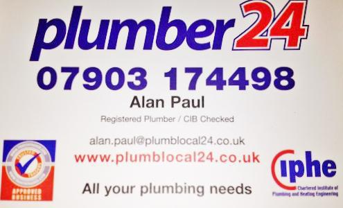 Plumber 24 Ltd logo
