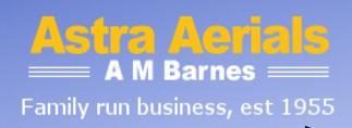 Astra Aerials logo