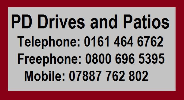PD Drives and Patio logo