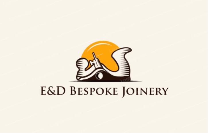 E&D Bespoke Joinery logo
