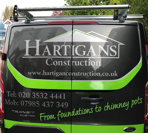 Hartigans Construction logo