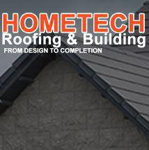 Hometech Roofing & Building logo