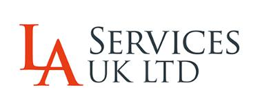 L A Services UK LTD logo