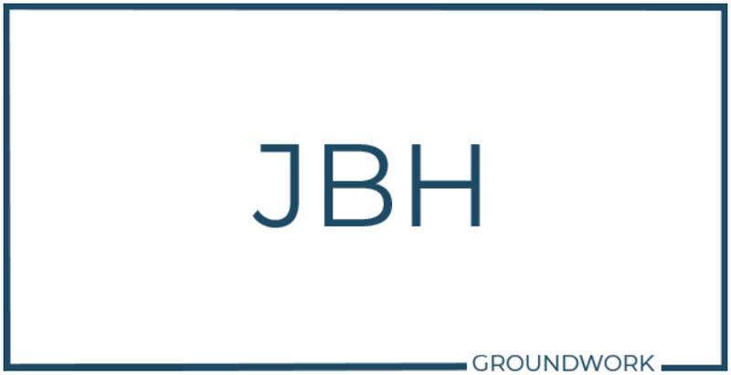 JBH Groundwork logo