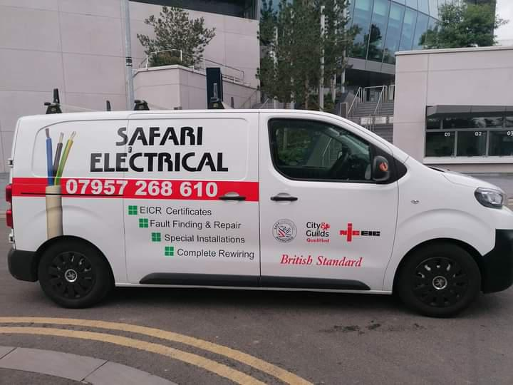 Safari Electrical logo