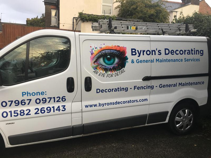 Byrons Decorating & General Maintenance Services logo