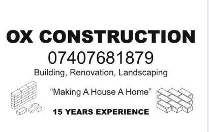 Ox Construction logo