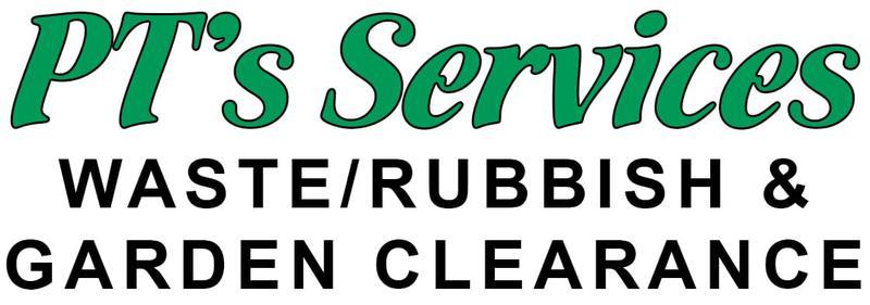 PT'S Rubbish Removals logo