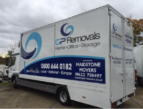 GP Removals logo