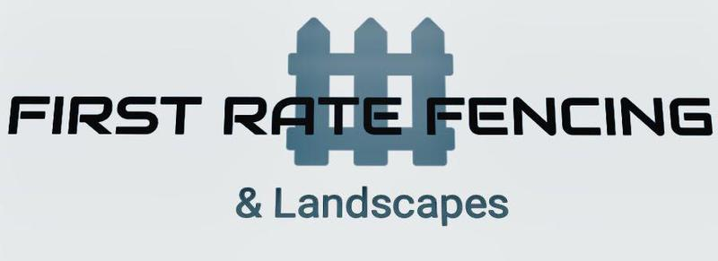 First Rate Fencing & Landscapes logo