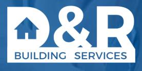 D&R Building Services logo