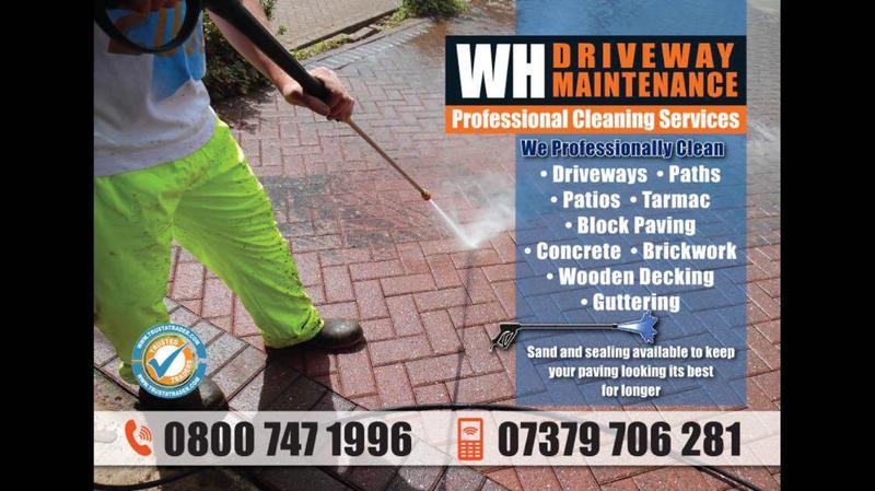 WH Driveway Maintenance logo