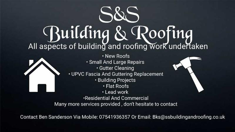 S&S Building & Roofing logo