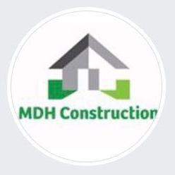 MDH Construction logo