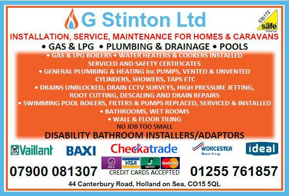 G Stinton Plumbing Drainage & Building logo