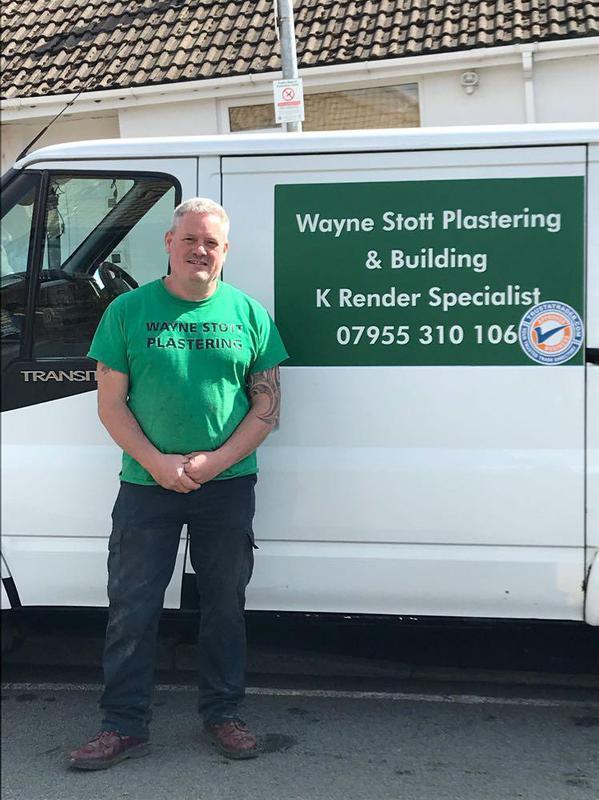 Wayne Stott Plastering & Building logo