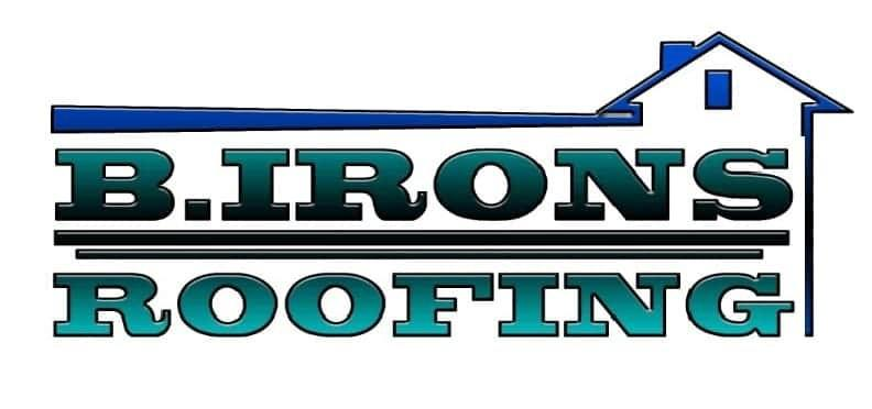 B Irons Roofing logo