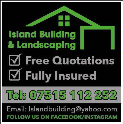 Island Building and Landscaping logo