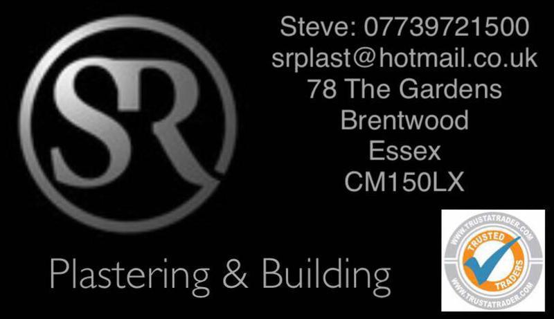 SR Plastering & Building logo