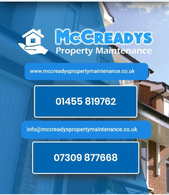 McCreadys Property Maintenance logo