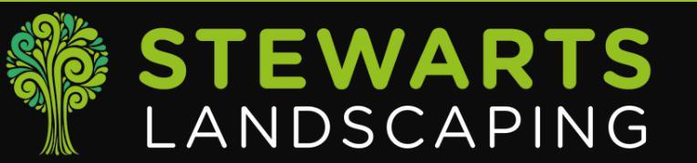 Stewarts Landscaping logo