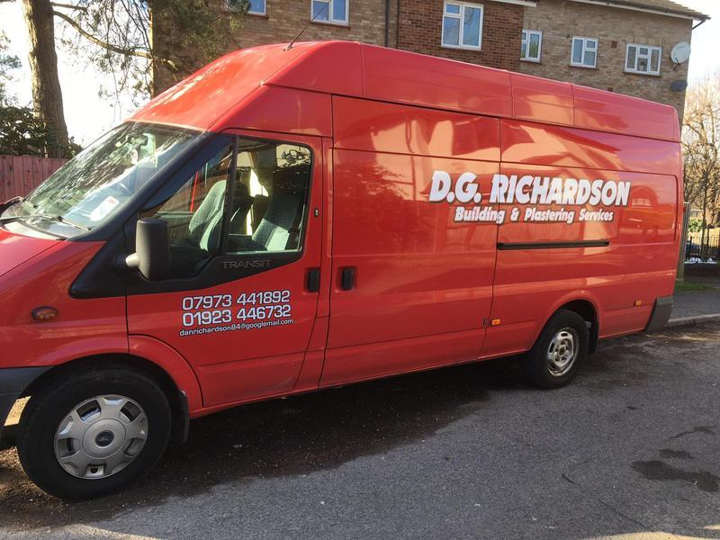 DG Richardson Plasterers logo