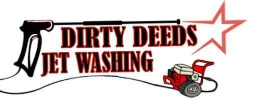 Dirty Deeds Jet Washing logo