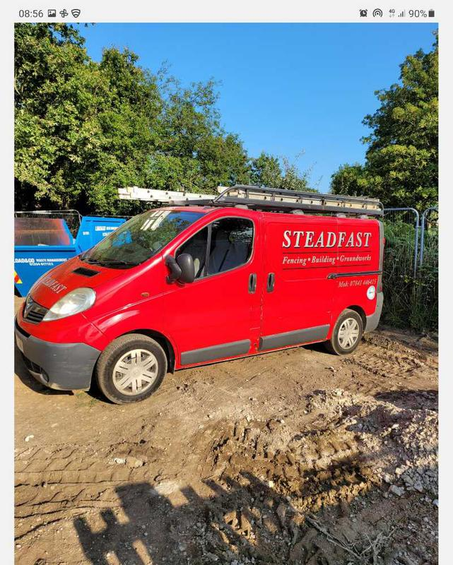 Steadfast Fencing Building and Groundworks logo