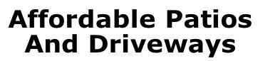 Affordable Patios & Driveways logo