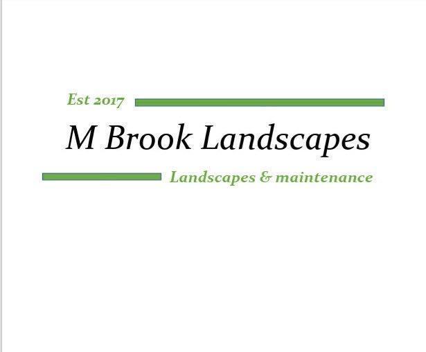 M Brook Landscapes logo