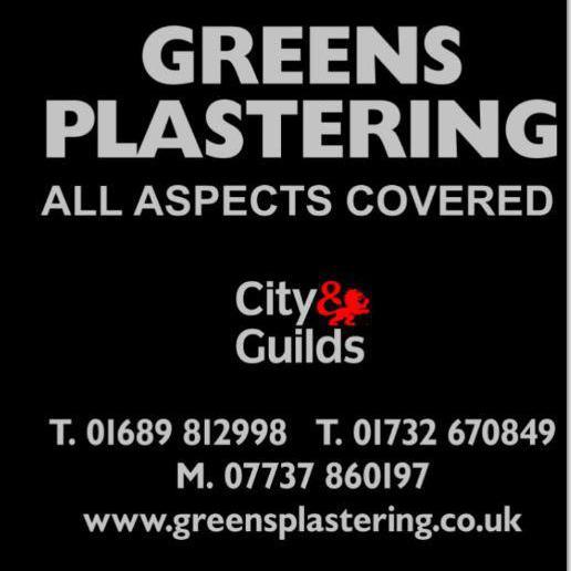 Greens Plastering logo
