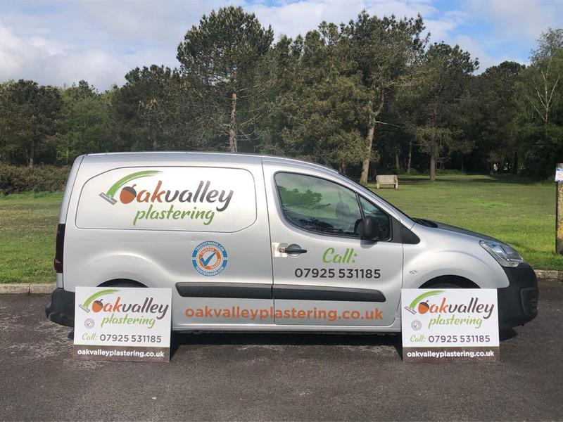 Oak Valley Plastering logo